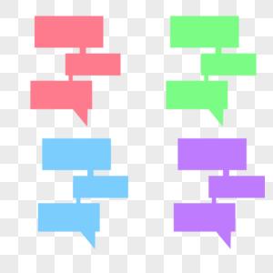 对话边框图片