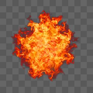 火团元素图片