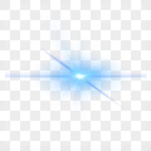 蓝色光束光效图片
