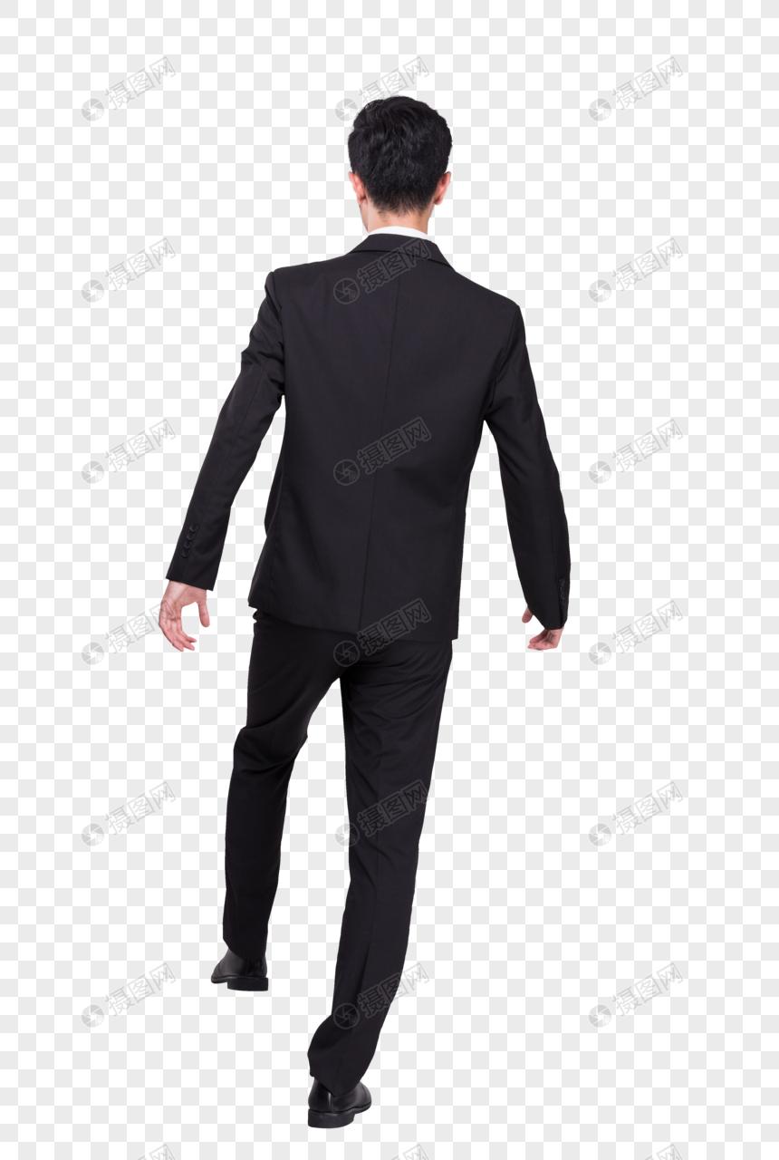 商务男士西装形象图片