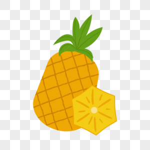 夏天的菠萝图片
