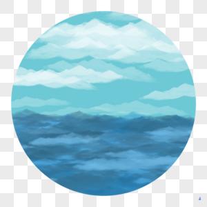 海浪和天空图片