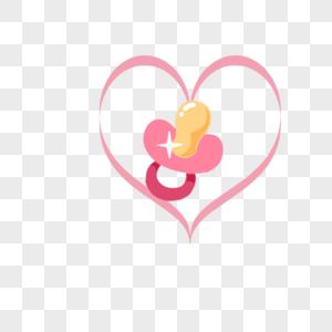 婴儿用品可爱奶嘴图片