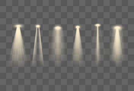 暖色舞台灯光光效图片