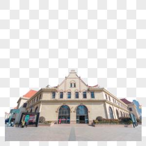 青岛老建筑青岛火车站图片