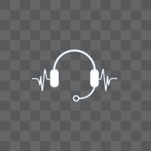耳机图标图片