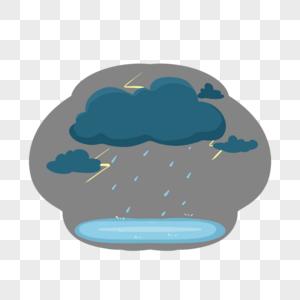 重庆大暴雨暴风天气预警重大灾害危险禁止出行图片