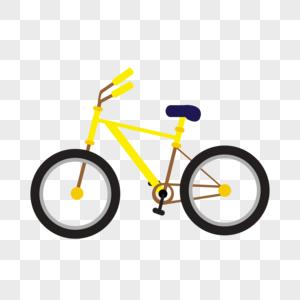 自行车装饰素材图案图片