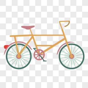 立夏自行车出行装饰素材图案图片