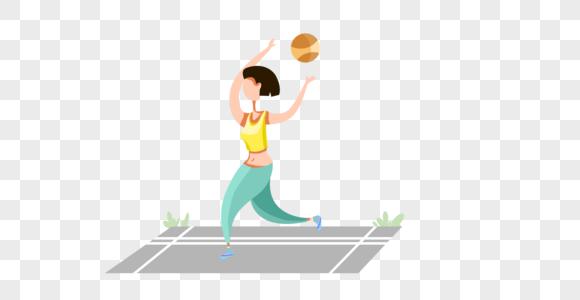 打球健身减肥图片