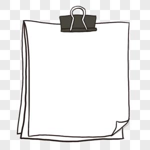 简约创意夹子边框图片