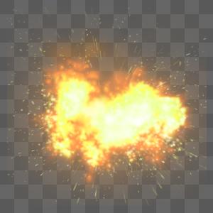 爆炸特效图片