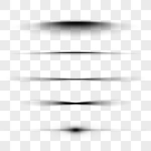 线条阴影投影图片