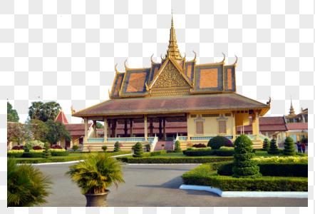 柬埔寨金边皇宫图片