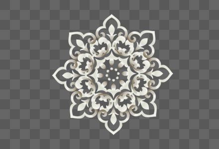AI矢量图渐变元素特色个性花类元素花蕊图片