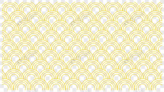 中国风金黄色云纹底纹图片