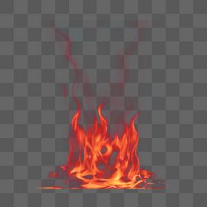 燃烧元素图片