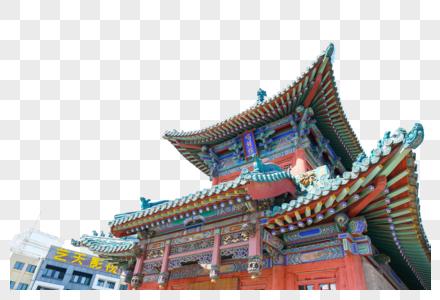 山西省太原唱经楼图片