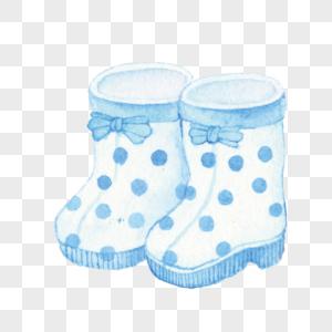 可爱雨鞋图片