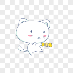 吃糖果的小兔子图片