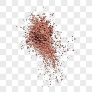 尘土元素图片