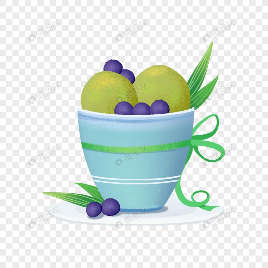 蓝莓抹茶夏日夏季a蓝莓冰激凌雪糕解暑品格绿色神器室内设计装饰工程有限公司图片