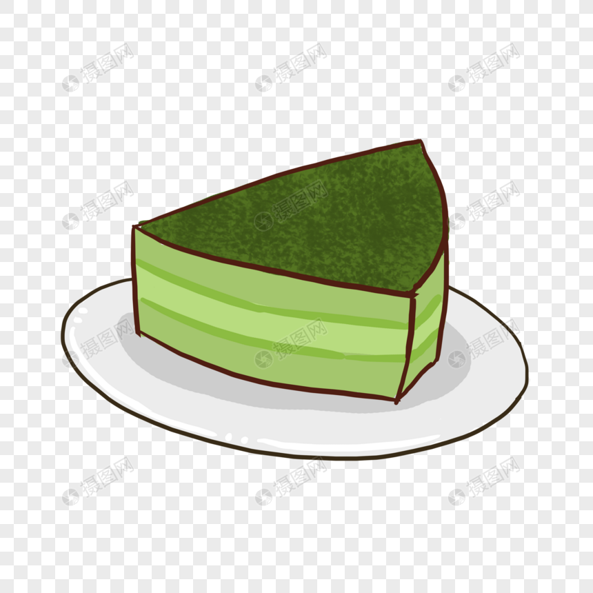 抹茶元素格式甜品卡通素材psd蛋糕_设计素材上海中巍建筑设计有限公司图片