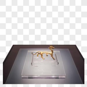 西安博物馆鎏金玉龙图片