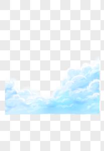 天空的白云图片
