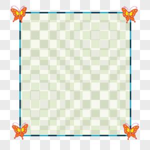 蝴蝶边框图片
