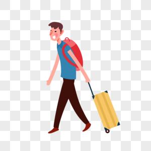 旅行人物图片