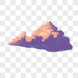黄昏云图片