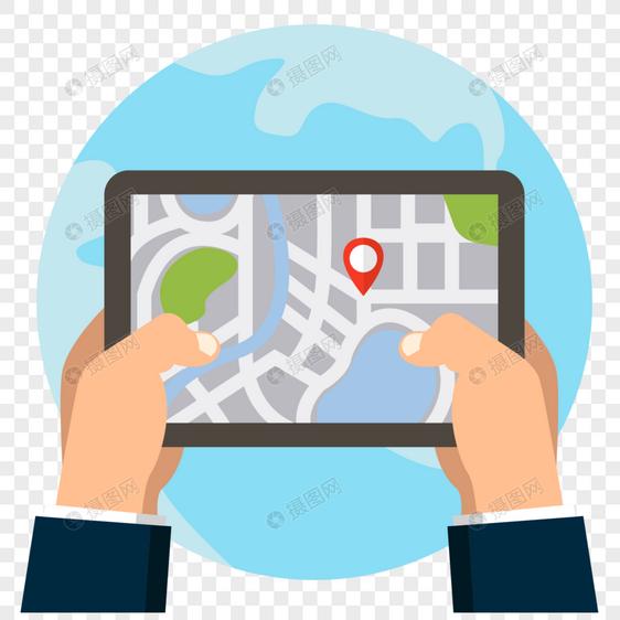 GPS卫星导航图片