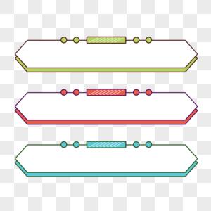 彩色标题框图片