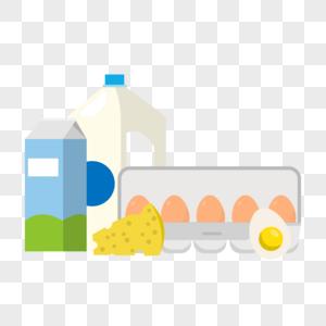 蛋奶制品图片
