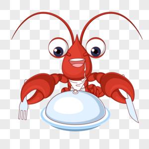 吃西餐龙虾图片