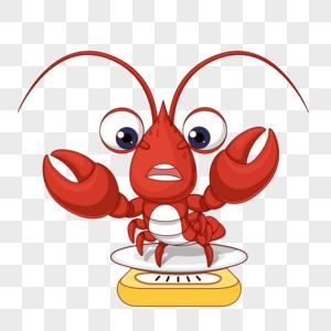 称体重龙虾图片