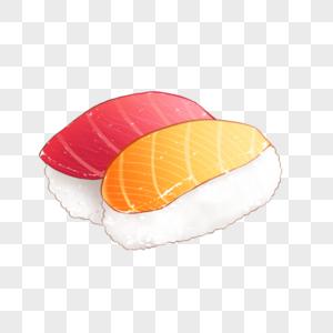 生鱼片寿司图片
