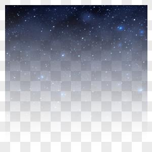 满天繁星的夜空图片