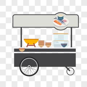 户外流动食品车图片