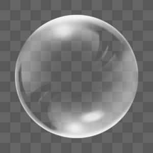 圆形透明泡泡图片