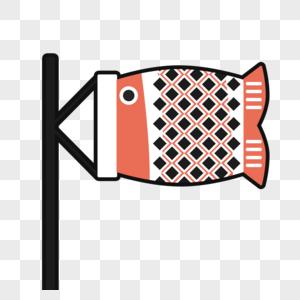 日本鱼旗图片