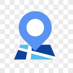 地图免抠矢量插画素材图片