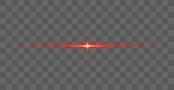 红色星空光效图片