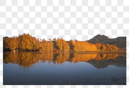 双湖之镜图片