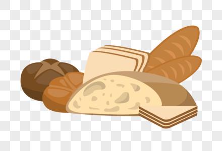 各种面包图片
