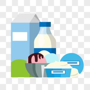 乳制品和冰淇淋图片