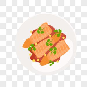 煎虾尾图片