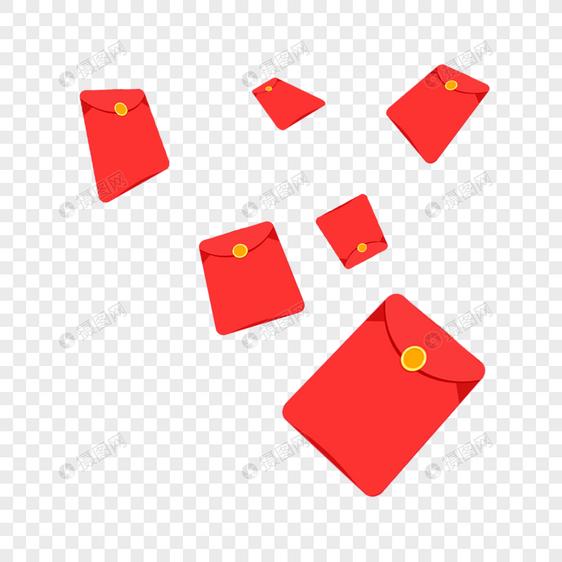 红包满天飞图片