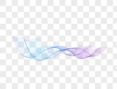 炫彩丝带线条图片